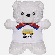 Personalized School Bus Driver Teddy Bear