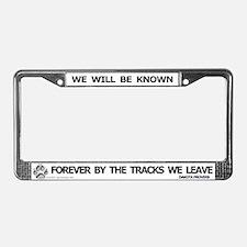 Dakota Proverb License Plate Frame