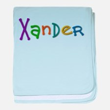 Xander Play Clay baby blanket