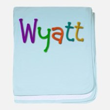 Wyatt Play Clay baby blanket