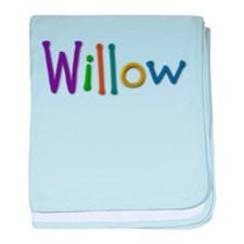 Willow Play Clay baby blanket