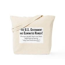 No More Hunger! Tote Bag