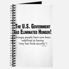 No More Hunger! Journal