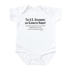 No More Hunger! Infant Bodysuit