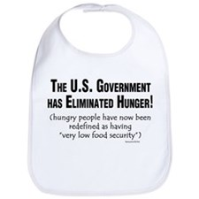 No More Hunger! Bib
