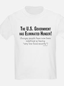 No More Hunger! Kids T-Shirt
