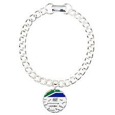 South African Slang Charm Bracelet, One Charm