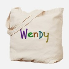 Wendy Play Clay Tote Bag