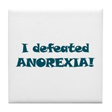 Defeated Anorexia -  Tile Coaster