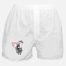 Sad Christmas Boxer Shorts
