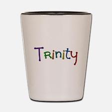 Trinity Play Clay Shot Glass