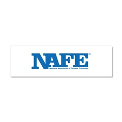 NAFE Logo Car Magnet 10 x 3