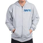 NAFE Logo Zip Hoodie