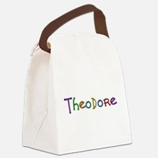 Theodore Play Clay Canvas Lunch Bag