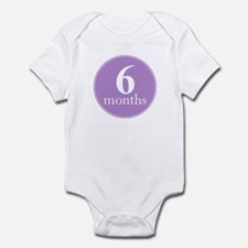 6 Months Old Violet Infant Bodysuit