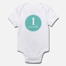 1 Month Old Mint Infant Bodysuit