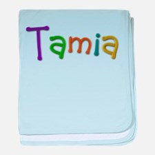 Tamia Play Clay baby blanket