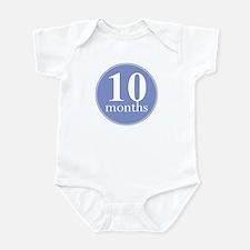 10 Months Old Lavender Infant Bodysuit