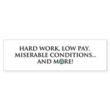 CCC Motto Bumper Bumper Sticker
