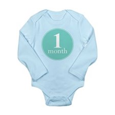 1 Month Old Mint Baby Outfits