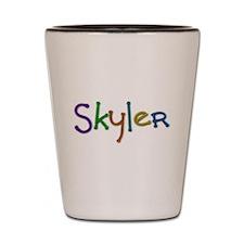 Skyler Play Clay Shot Glass