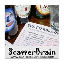 SCATTERBRAIN Tile Coaster