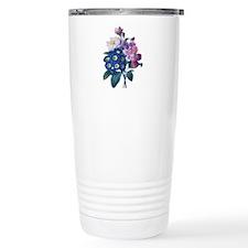 Redoute Bouquet Travel Coffee Mug