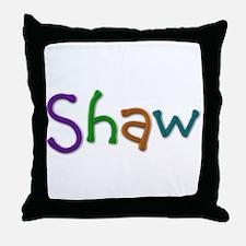 Shawn Play Clay Throw Pillow