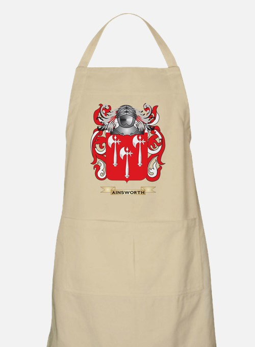 Ainsworth Coat of Arms Apron