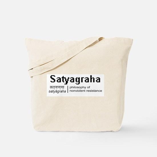 Satyagraha Tote Bag