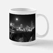 Columbia Skyline At Night Mug