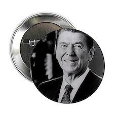 """President Ronald Reagan 2.25"""" Button"""
