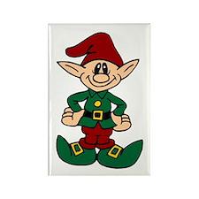 Santa's helper, at your service! Rectangle Magnet