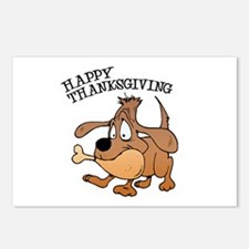 Happy Thanksgiving Dog Postcards (Package of 8)
