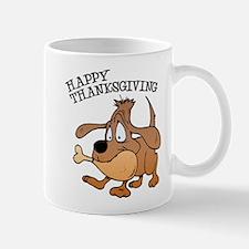 Happy Thanksgiving Dog Mug
