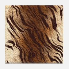 Tiger Skin Tile Coaster