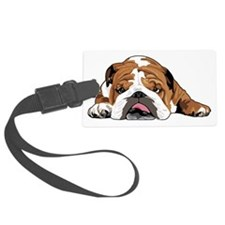 Teddy the English Bulldog Luggage Tag