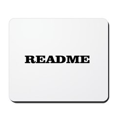 README Mousepad