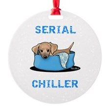 Mtn Cur Serial Chiller Ornament