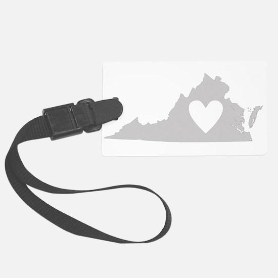 Heart Virginia Luggage Tag