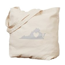 Heart Virginia Tote Bag