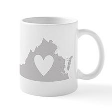 Heart Virginia Mug