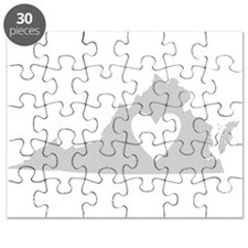 Heart Virginia Puzzle