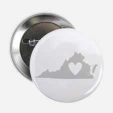 """Heart Virginia 2.25"""" Button"""