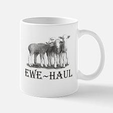 Ewe Haul Black & White Mug