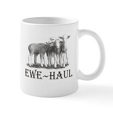 Ewe Haul Black & White Small Mug