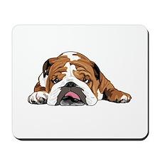 Teddy the English Bulldog Mousepad