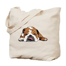 Teddy the English Bulldog Tote Bag