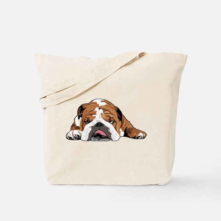 Teddy the English Bulldog Tote Bag