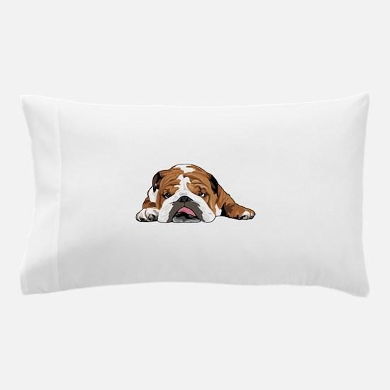 Teddy the English Bulldog Pillow Case